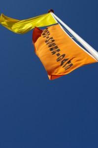 Gele vlag en RBvlag